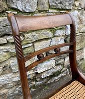 Set of 4 Regency Rosewood Sabre Leg Dining Chairs (11 of 15)