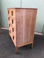 Antique Limed Oak Heals Chest of Drawers (5 of 10)