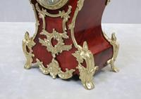 French Belle Epoque Tortoise Shell Mantel Clock by L.P Japy (4 of 8)