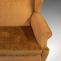 Antique Queen Anne Style Sofa, English, Two Seat Settee, Victorian, Circa 1880 (9 of 10)