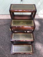 Mahogany & Leather Metamorphic Library Steps (2 of 10)