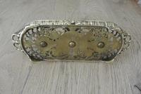 Fine William Tonks & Sons Brass Inkwell Registered Diamond for 1883 Double Inkstand (10 of 10)