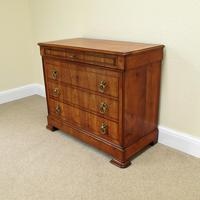 Cherry Wood Chest of Drawers c.1850 (4 of 8)