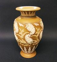 Splendid Royal Doulton Silicon Ware Vase c.1890 (4 of 6)
