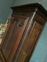 Lovely French Single Door Armoire or Hall Cupboard (2 of 7)
