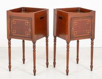 Pair of Regency Style Mahogany Bedside Cabinets (5 of 7)