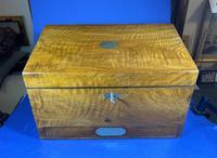 Victorian Walnut Stationary Box (12 of 15)