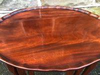 Antique Mahogany Nest of 3 Tables (4 of 8)