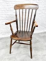 Antique Stick Back Armchair (4 of 6)