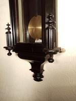 Ebonised Vienna Wall Clock. Gebruder Resch (5 of 7)