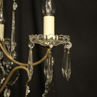 French Gilded Birdcage 5 Light Antique Chandelier (6 of 10)