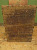 Antique Pine Tuck Box with Old Luggage Labels (15 of 19)