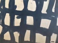 Original Watercolour 'Grid with incisions' by Donald Wells 1929-2014. Signed c.1968 (2 of 2)