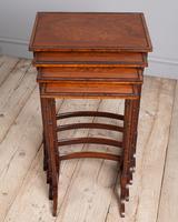 Edwardian Mahogany Nest of Tables (2 of 7)