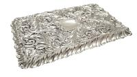 Antique Edwardian Sterling Silver 'Birds' Dressing Tray 1906 (8 of 10)