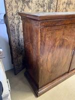 Large Burr Walnut Two Door Inlaid Cupboard (4 of 8)