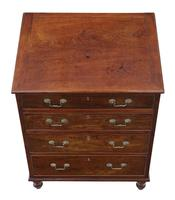 Small Mahogany Chest of Drawers 19th Century (7 of 7)