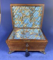 Regency Burr Maple  Jewellery Box With Inlay (9 of 16)