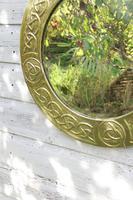 Arts & Crafts Movement Scottish / Glasgow School Circular Wall Mirror c.1900 (24 of 24)