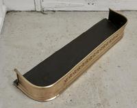 Small Victorian Pierced Brass Fender (4 of 5)