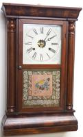 Antique American Ogee Wall Clock – Weight Driven Wall / Mantel Clock (10 of 12)