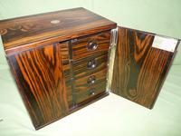 Rare Calamander Cabinet of Drawers. Very Versatile. c1880 (9 of 19)