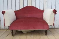 Antique French Sofa Chaise Longue (2 of 9)