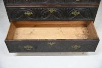 Carved Oak Writing Bureau (4 of 13)