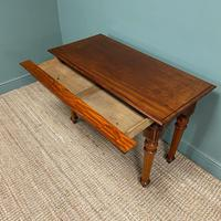Spectacular Victorian Mahogany Antique Console Table (3 of 6)