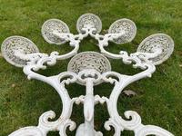 Victorian 19th Century Garden Cast Iron 6 Branch Plant Stand Coalbrookdale Style (14 of 27)
