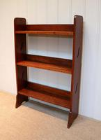 Solid Oak Graduated Bookshelves (5 of 8)