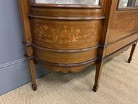Maple & Co Inlaid Mahogany Display Cabinet (4 of 13)