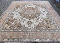 Fine Antique Tabriz Roomsized Carpet 382x285cm (2 of 9)