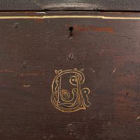 Antique Merchant's Tool Chest, English, Pine, Craftsman's Trunk, Victorian c.1900 (10 of 12)
