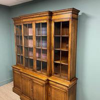 Super Quality Solid Oak Antique Library Bookcase (4 of 9)