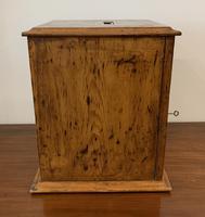 Antique Pine Microscope Slide Cabinet (6 of 17)