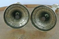 Pair of English 18th Century Georgian Seamed Brass Candlesticks c.1790 (2 of 6)