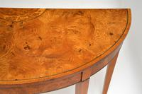 Antique Sheraton Style Pollard Oak Console Table (7 of 9)