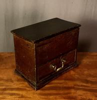 Early Nineteenth Century Miniature Pine Mule Chest (8 of 8)