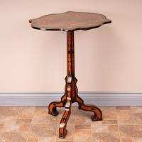 19th Century Marquetry Tripod Table (14 of 17)