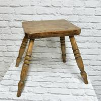 Antique 4-leg Country Stool (2 of 6)