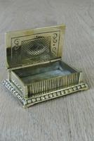 Fine William Tonks & Sons Brass Match Safe / Striker Box Vesta c.1900-1910 (2 of 4)