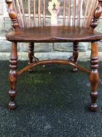 Antique Ash & Elm Windsor Armchair (2 of 10)