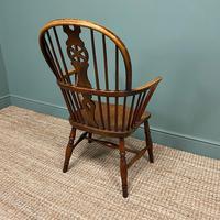 Georgian Wheel Back Antique Windsor Chair (3 of 6)