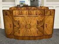 Burr Walnut Art Deco Dressing Table (6 of 14)