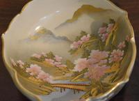 Fine Pair of Satsuma Lobed Bowls (5 of 7)