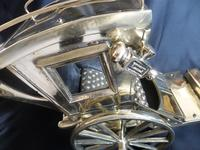 Solid Brass Model of a Hansom Can & Horse (5 of 6)
