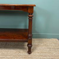 Spectacular Victorian Mahogany Antique Console Table (5 of 8)