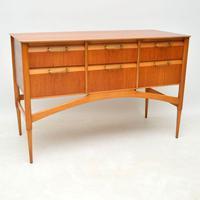 1950's Vintage Satinwood Sideboard (7 of 11)