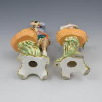 Fine Pair Minton Porcelain Sweetmeat Figures with Baskets Models 84 & 85 c.1830 (23 of 23)